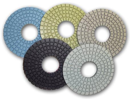 3 or 5 Step Polishing Pads for Granite and Marble pictures & photos