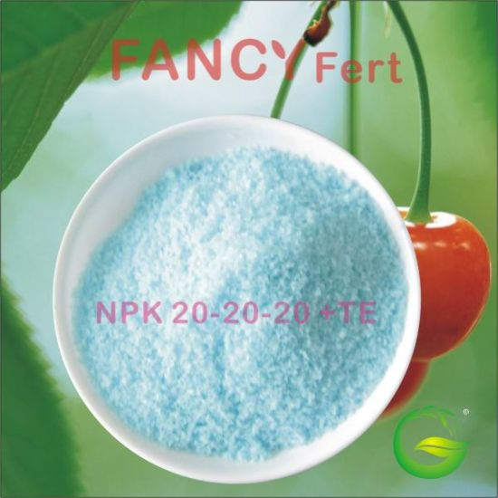 Water Soluble Chemical Fertilizer NPK Compound Trace Elements NPK 20-20-20 +Te pictures & photos