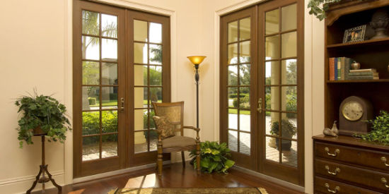 China Insulation Double Glazed French Doors With Standard As2047
