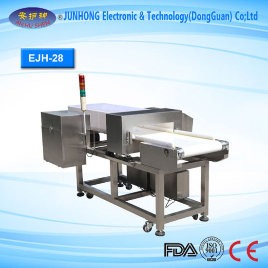 HACCP & FDA Grade Conveyor Belt Type Food Metal Detector pictures & photos