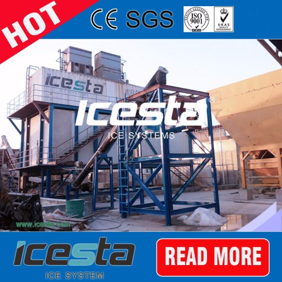 Food-Grade Tube Ice Machine 10000kg/24hr Delivery
