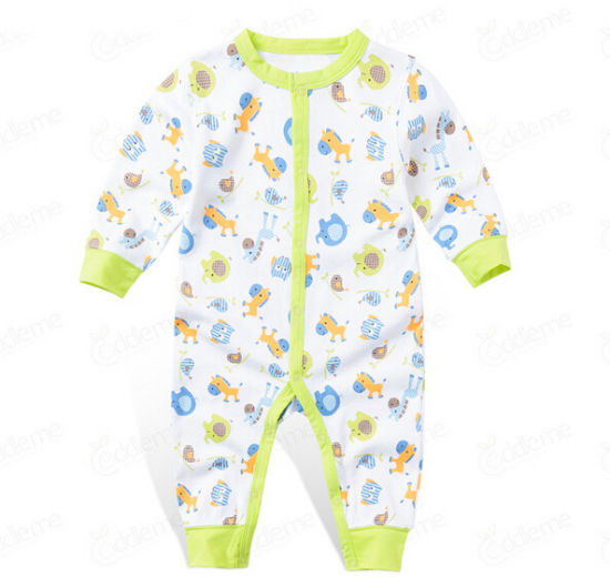 Customize Unisex Lovely Soft Cotton Comfortable Baby Romper