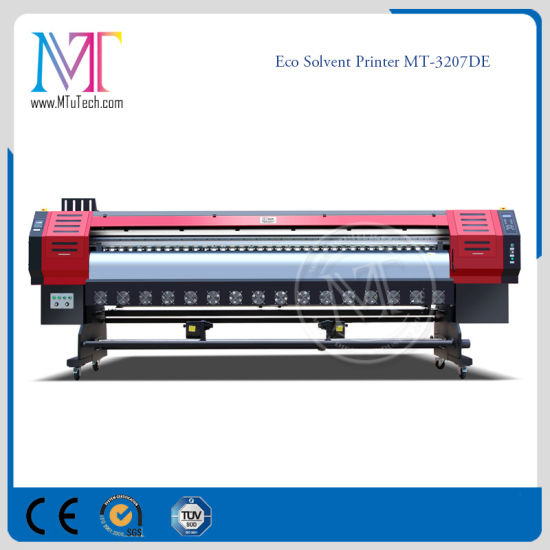 3.2 Meters Inkjet Large Format Printer with Original Epson Dx5 Printhead Eco Sovent Printer pictures & photos