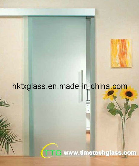China Opaque Tempered Glass Door With Asnzs And En12150 Certificate