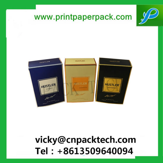 Custom New Design Folding Rigid Cigarette  Paper Boxes Color Printed Cosmetic Box pictures & photos