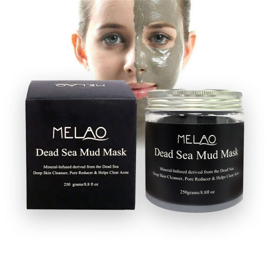 Dead Sea Mud Mask for Face & Body - 100% Natural SPA Quality - Best Pore Reducer & Minimizer to Help Treat Acne, Blackheads & Oily Skin – Tightens Skin