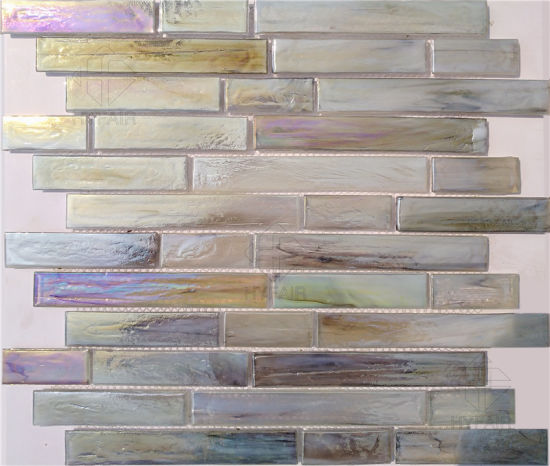 classical style compressed glass mosaic tile for home patio hotel decoration