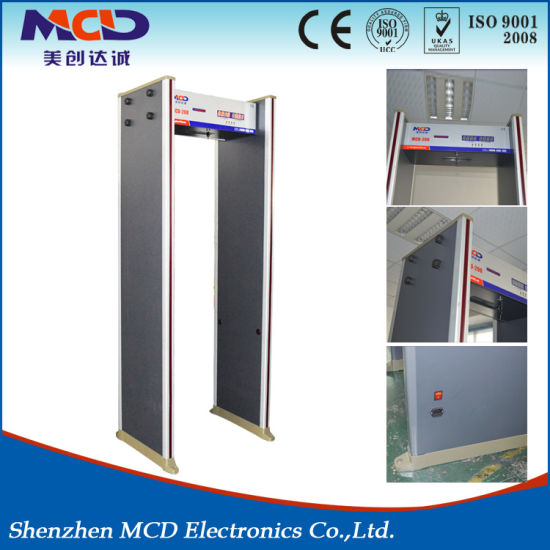 Hot Sale Security Walk Through Metal Detector Gate pictures & photos