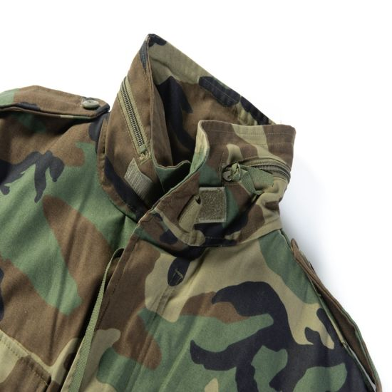 Fire Retardant Durable Fabric Rip-Stop Woodland Camouflage Suit