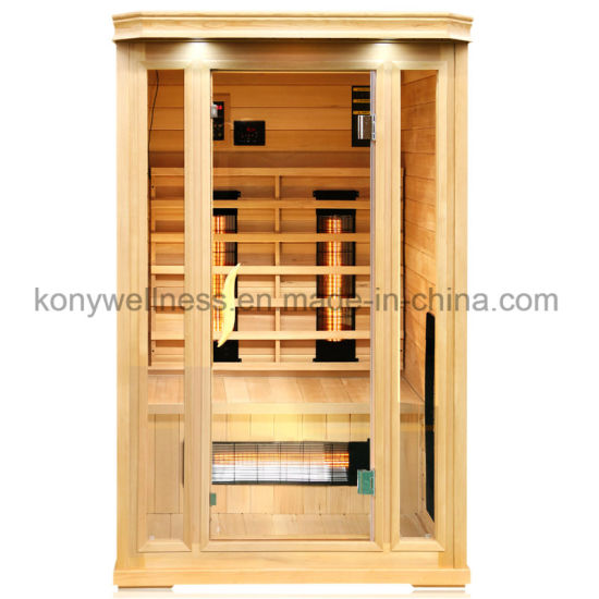 2 Person Use Size Far Infrared Dry Sauna Room Make Your Body Slim and Beautiful
