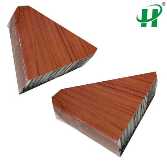 Lightweight Wood Grain Honeycomb Panel For Building Material