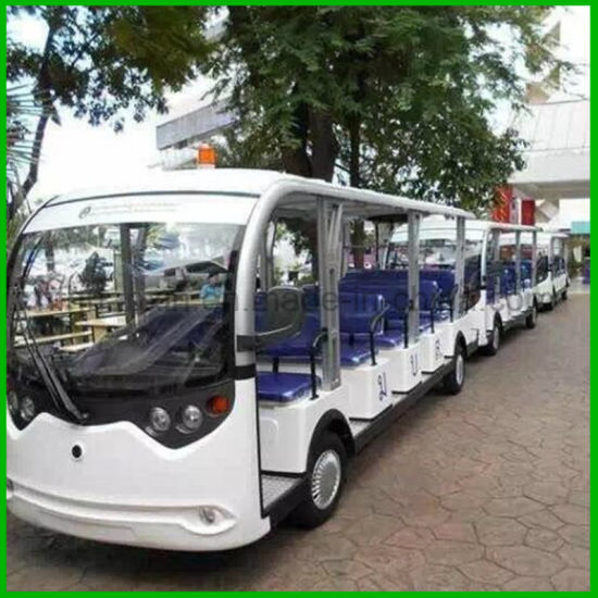 Best Electric 14seats Sightseeing Car for Hotel and Resorts' Transportation Service