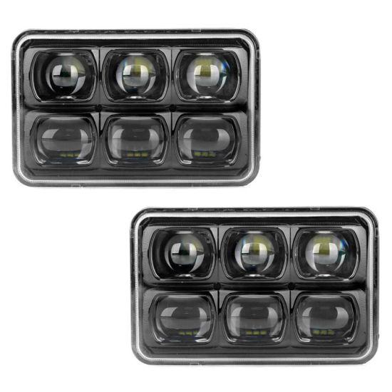 45w 57w 60w 4x6 Led Headlights For Jeep Wrangler
