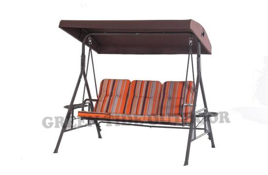 China 2018 New Leisure Outdoor Garden Furniture Oxford Stripe 3