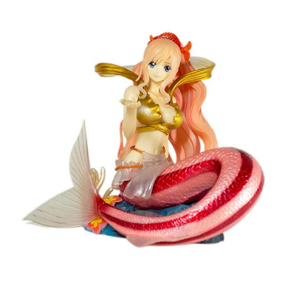 PVC Plastic Shirahoshi Toy Figure