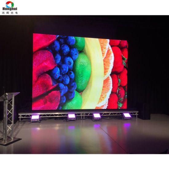 P3 91 P4 81 Indoor Large Rental TV Screen Stage LED Video Wall Panel