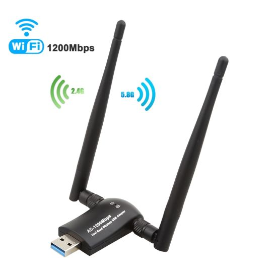 1200Mbps Wireless USB WiFi Adapter, Laptop Network Adapters, pictures & photos