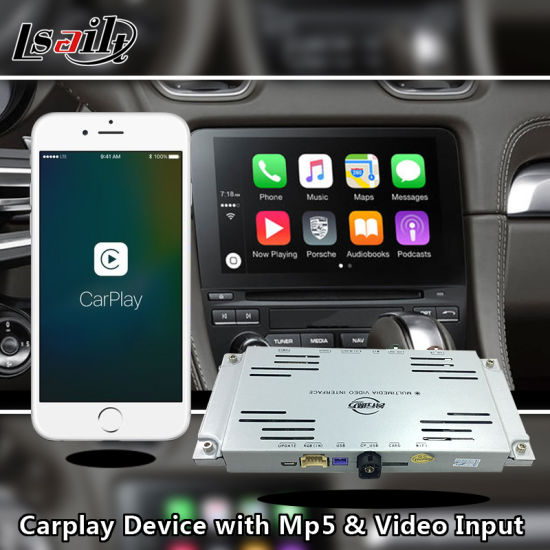 Ios Carplay Box for Porsche PCM 3.1 for Audi 3G for Benz Ntg4.5 / 5.0 for Volkswagen Touareg pictures & photos