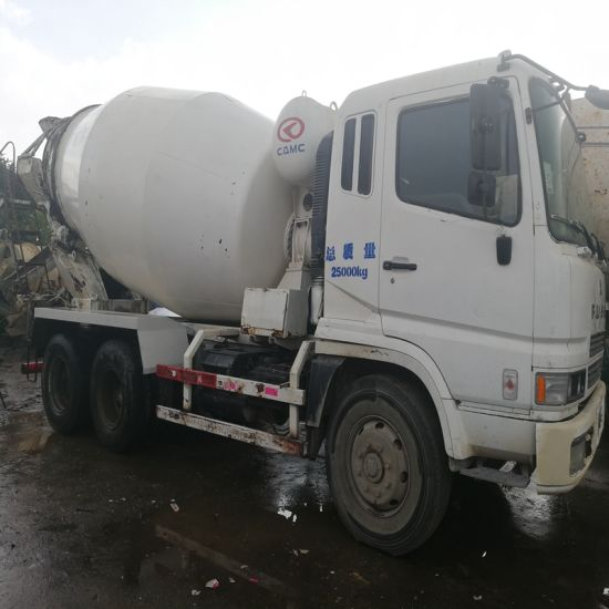 China Construction Machinery Used Concrete Mixer Truck Fuso