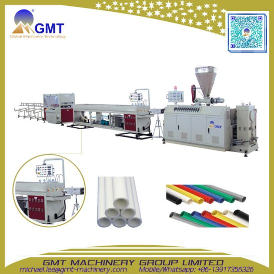 PVC/UPVC Water-Supply/Drain Plastic Pipe/Tube Extruding|Extruder|Extrusion Making Machine