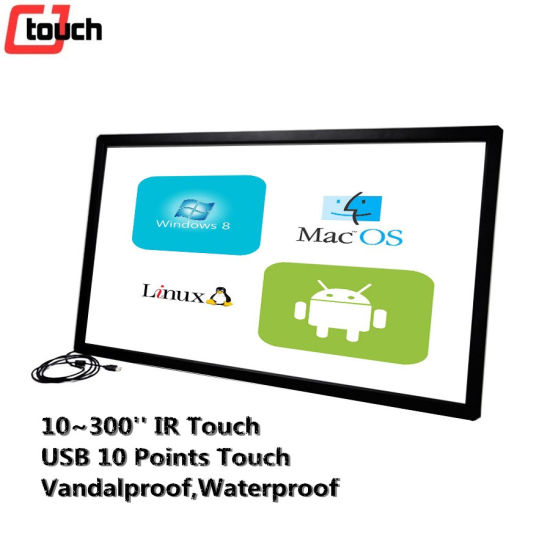 TFT Monitor Display China Dongguan Pcap Touchscreen Sunlight Readable Factory Cjtouch IR Frame pictures & photos