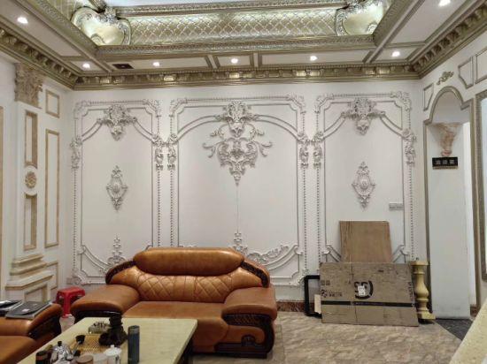 China 81053 Architectural Decorative PU Trim Cornice