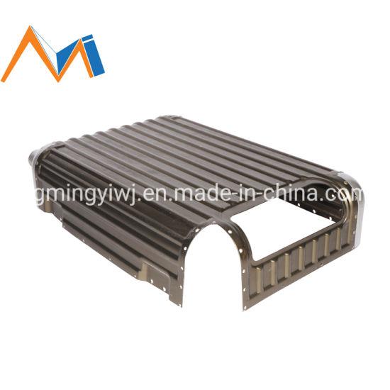Hot Sale Pull Rod Box Aluminium Alloy Luggage Accessories/Aluminum Profile