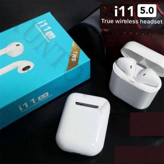 I11 Tws Stereo Earbuds Bluetooth Mini Noise Cancelling Wireless Earphone