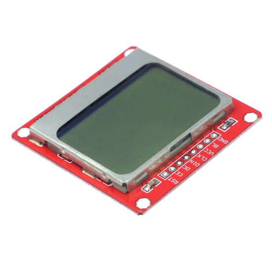 Red /& Green 84*48 LCD Module Blue Backlight Adapter PCB for Nokia 5110 VY