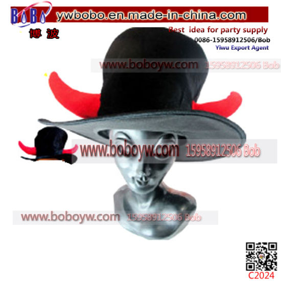 Halloween Gift Party Cosplay Devil Horns Carnival Hat Halloween Costumes (C2024)