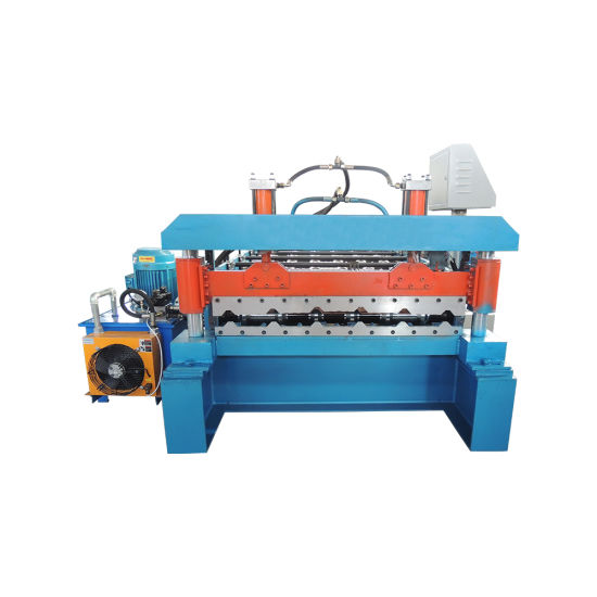 Trapezoid Steel Panel Roofing Metal Steel Sheet Machine Roll Forming Machines
