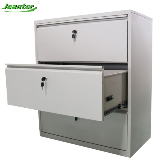 Lateral Storage 3 4 Drawer Filing Cabinet/Metal Steel Filing Cabinet