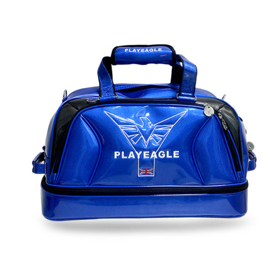 Playeagle PU Golf Bag Shoes Bag Boston Bag pictures & photos