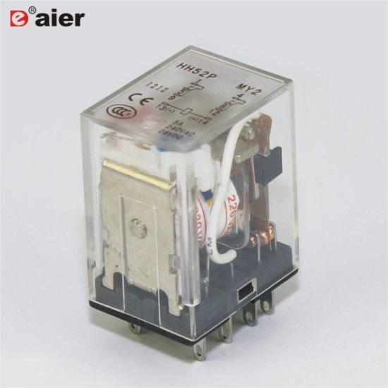China Hh52p My2 5a 8 Pin Relay 12v Omron Relay China Omron Relay Relay 12v
