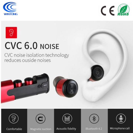China High Quality Tws Wireless Sports Bluetooth Headset With Noise Cancelling China Headset Bluetooth Headset