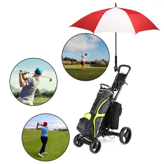 39cc647ac415 China Golf Umbrella 62 Inch Large Oversize Double Canopy Vented ...