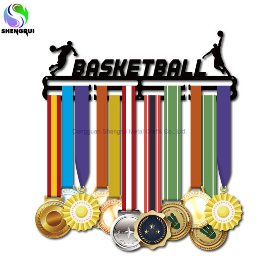 Wholesale Factory Metal Medal Hanger Basketball Medal Display Hanger