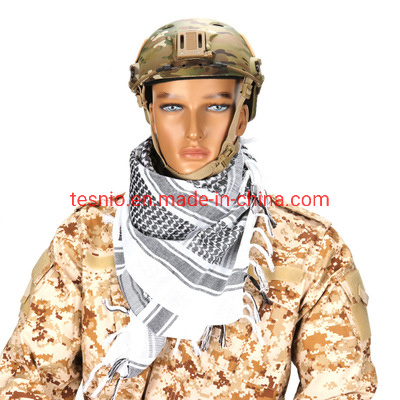 Lightweight Army Military Arab Tactical Shemagh KeffIyeh Scarf Thicken Head Wrap