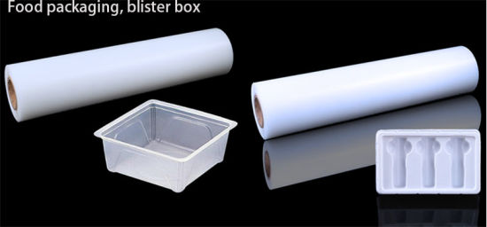 Anti Static Colorful Rigid 4*8 PP Plastic Material Polycarbonate Vacuum Formimg Sheet Rolls for Food Packaging or Blister Box