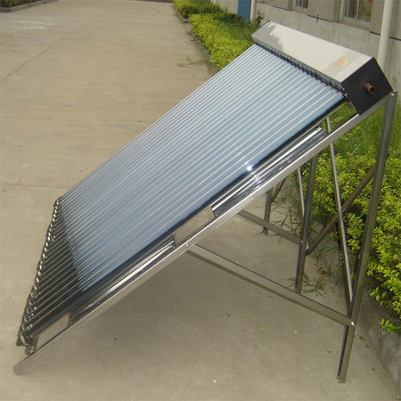 Heat Pipe Solar Collector with Vacuum Tube and Aluminum Frame pictures & photos