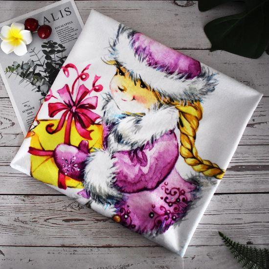 Wholesale Digital Printing Minky Fabric for Baby Blanket