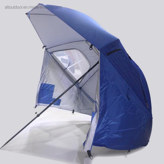 Ammsun Outdoor Patio Beach Camping Pop up Travel Beach Umbrella Tent