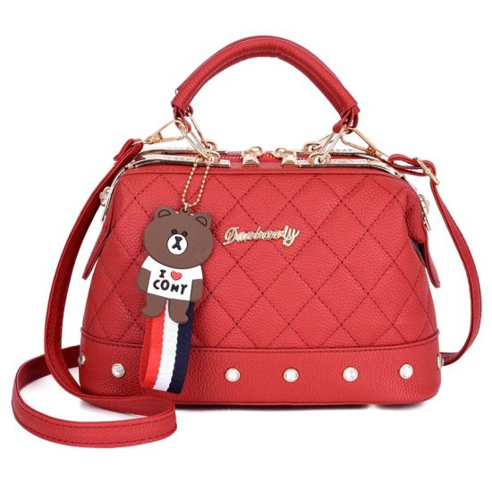 Luxury Designer Cow Leather Hand Bags Handbag Brand Handbag Weekend Handbag