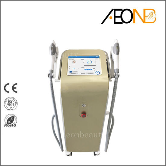 China Professional Laser Hair Removal Machine Sr Hr Two Handles Shr For Skin Rejuvenation And Hair Removal China Beauty Salon Equipment Hair Removal Soaps