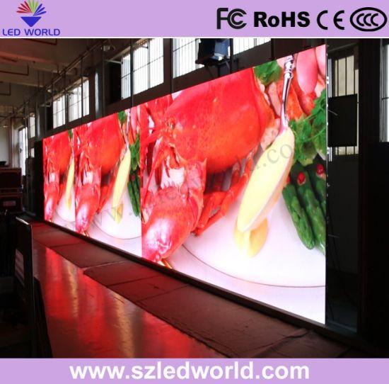 High Brightness DIP Full Color LED Display Panel P16