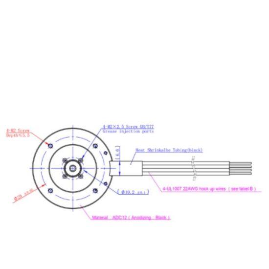 External Rotor Brushless DC Motor 32wn07