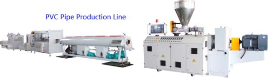 Plastic Pipe Extruder/ PVC Pipe Machine/ Drainage Pipe/ Electricity Conduit Pipe Production Line/ Pipe Making