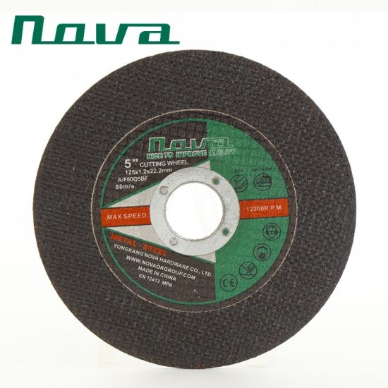 Colorful Abrasive Grinding Polishing Flap Cut off Disk Disc Cutting Wheel for Toolings