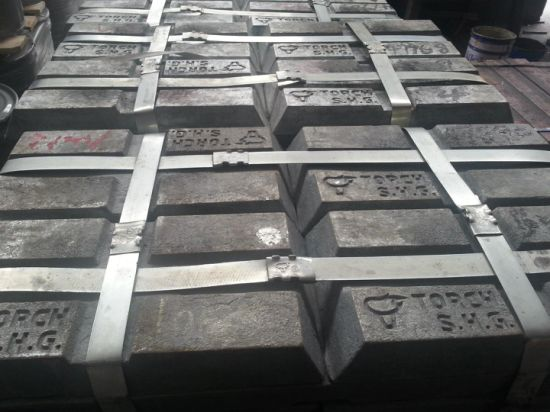 Zinc Ingots Factory Supply Directly (purity) : 98.7%-99.995%