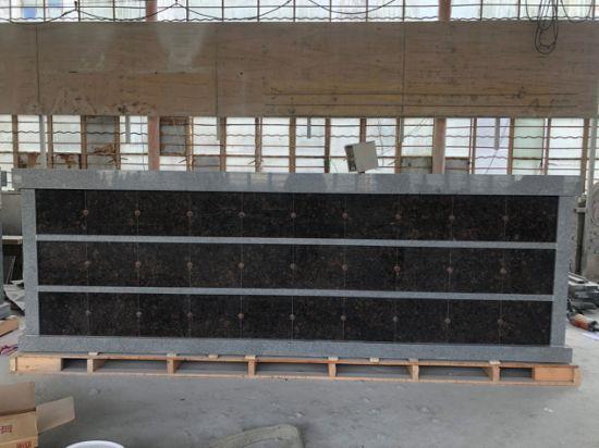 Haobo Stone China Granite Tombstone Columbarium